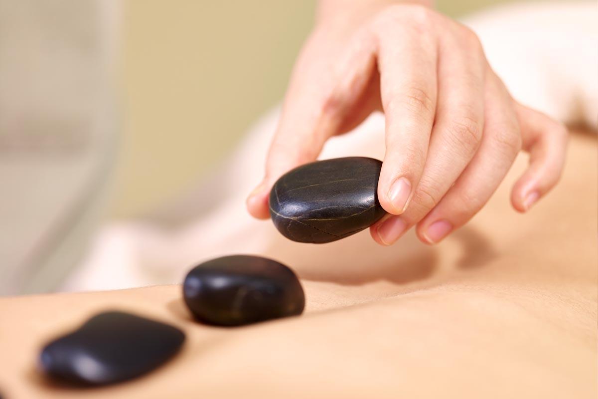 Hot Stone Massage, Praxis Tanja Böhm